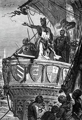 1100s Richard I The Lion-heart King Poster