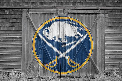 Buffalo Sabres Poster by Joe Hamilton