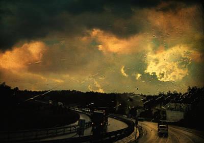 12 Days Of Rain Poster by Taylan Apukovska