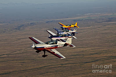 Extra 300 Aerobatic Aircraft Fly Poster by Scott Germain