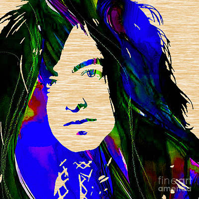 Jimmy Page Collection Poster by Marvin Blaine
