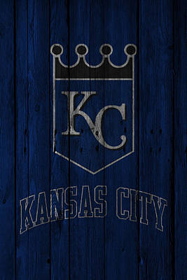 Kansas City Royals Poster by Joe Hamilton