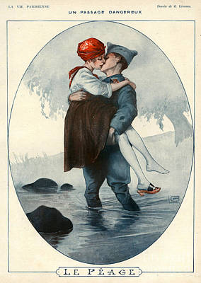 La Vie Parisienne 1918 1910s France Poster