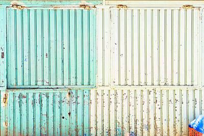 Metallic Background Poster by Tom Gowanlock