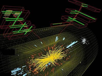 Proton Collision Poster