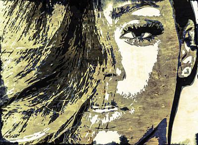 Rihanna Poster by Svelby Art