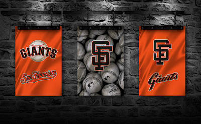 San Francisco Giants Poster by Joe Hamilton