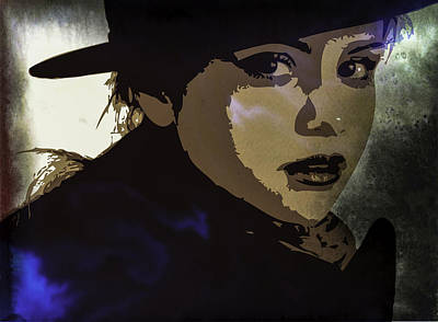 Selena Gomez Poster by Svelby Art