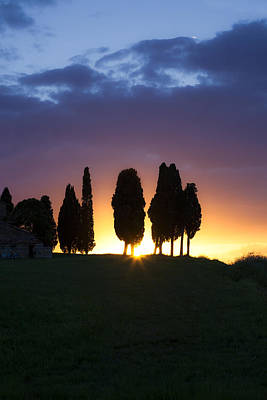 Tuscany - Val D'orcia Poster