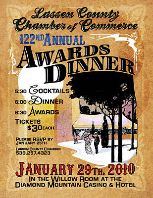 122nd Annual Awards Dinner Poster