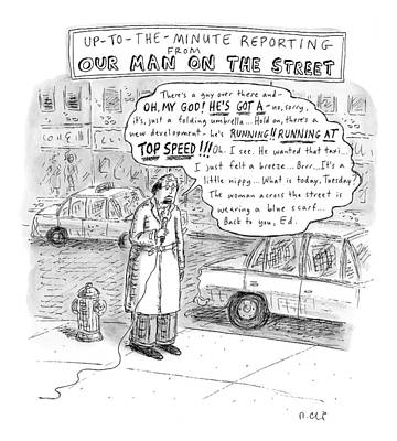 New Yorker February 9th, 2009 Poster by Roz Chast