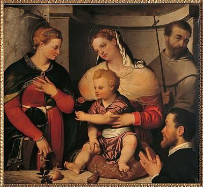 Italy, Lombardy, Milan, Brera Art Poster by Everett