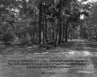 12a- Robert Frost  Poster