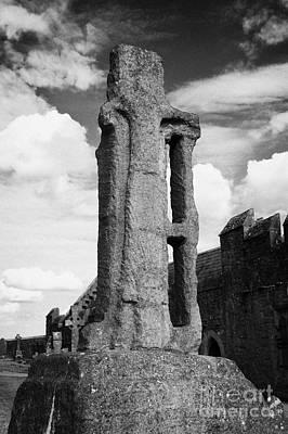 12th Century Cross Of St Patrick Rock Of Cashel Tipperary Ireland Poster by Joe Fox
