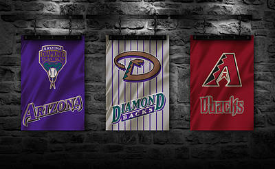 Arizona Diamondbacks Poster by Joe Hamilton