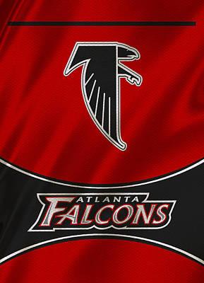 Atlanta Falcons Uniform Poster