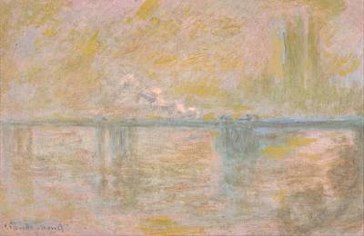 Charing Cross Bridge Poster by Claude Monet