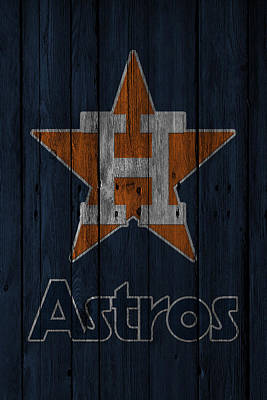 Houston Astros Poster by Joe Hamilton