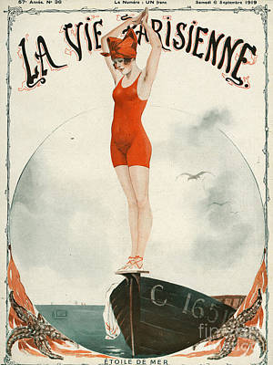 La Vie Parisienne  1919 1910s France Poster