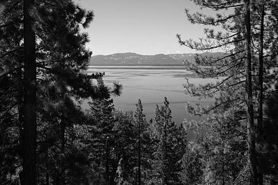 Lake Tahoe Poster by Frank Romeo