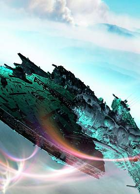 Spacecraft Poster