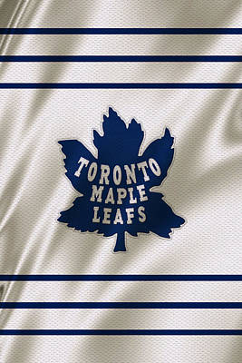 Toronto Maple Leafs Poster by Joe Hamilton