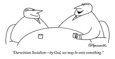 Darwinian Socialism - By God Poster
