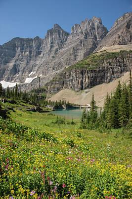 Usa, Montana, Glacier National Park Poster by Jaynes Gallery