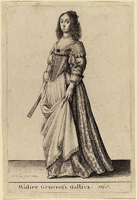 Wenceslaus Hollar Bohemian, 1607 - 1677 Poster by Quint Lox