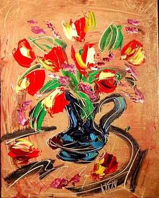 Flowers Poster by Mark Kazav