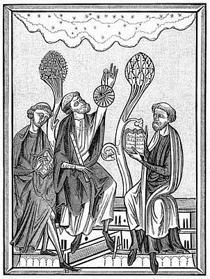 13th Century Astronomers Poster by Cci Archives