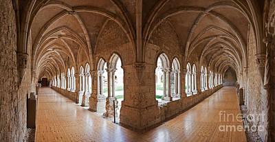 13th Century Gothic Cloister Poster by Jose Elias - Sofia Pereira