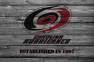 Carolina Hurricanes Poster by Joe Hamilton