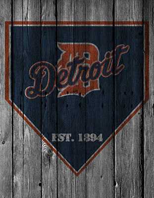 Detroit Tigers Poster by Joe Hamilton