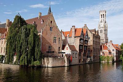 Europe, Belgium, Bruges Poster