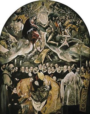Greco, Dom�nikos Theotok�poulos, Called Poster