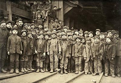 Hine Child Labor, 1911 Poster by Granger