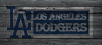 Los Angeles Dodgers Poster by Joe Hamilton