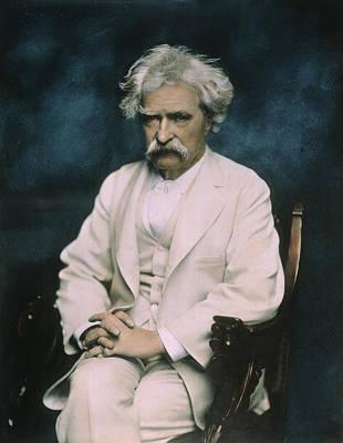 Samuel Langhorne Clemens (1835-1910) Poster by Granger