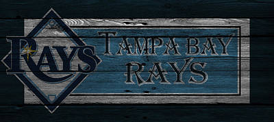 Tampa Bay Rays Poster by Joe Hamilton