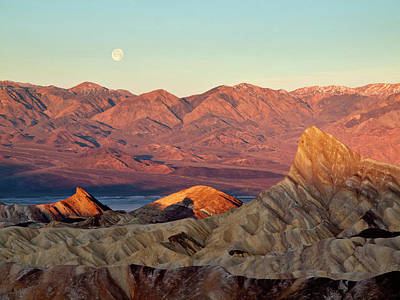 Usa, California, Death Valley National Poster