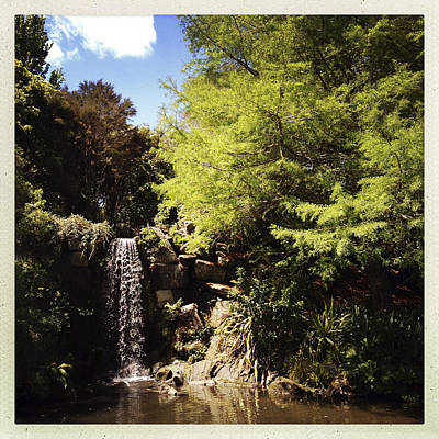 Waterfall Poster by Les Cunliffe