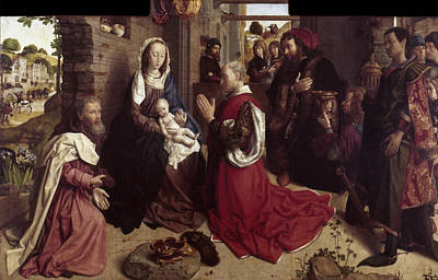 Adoration Of The Magi Poster by Granger