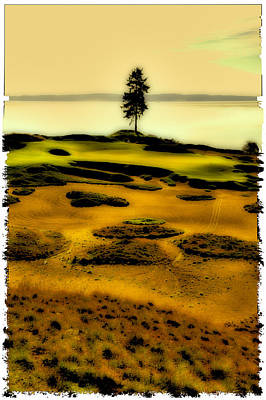 #15 At Chambers Bay - Location Of The 2015 Us Open Poster by David Patterson
