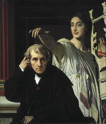 Ingres, Jean-auguste-dominique Poster