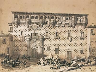 Perez Villaamil, Jenaro 1807-1854 Poster
