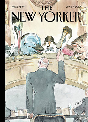 New Yorker June 7th, 2010 Poster