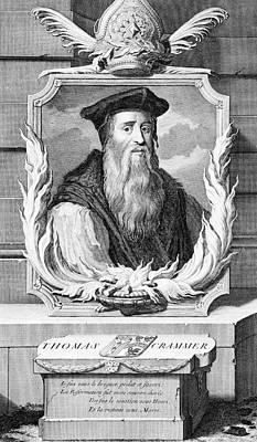1500s Thomas Cranmer Archbishop Poster