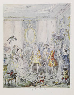 Cruikshank's Water Colours Poster by British Library