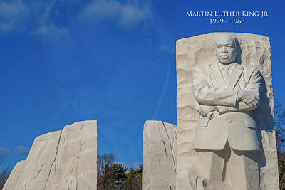 Martin Luther King Jr Memorial Poster